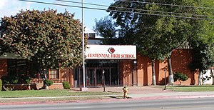 Compton Unified School District - Centennial High School