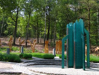 Viroinval - Monument for the geographical centre of the EU until its May 2004 expansion