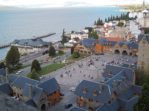 Centro Cívico y Puerto San Carlos en Bariloche