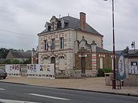 Cercottes (Loiret) Mairie - école.JPG