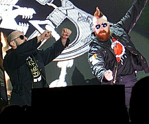 Cesaro and Sheamus - Cesaro (left) and Sheamus (right) in May 2017