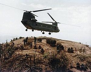 159th Combat Aviation Brigade - Firebase Resupply in Vietnam