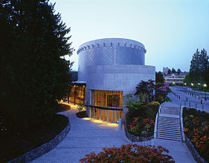 Bing Thom - Chan Centre for the Performing Arts at UBC in Vancouver, British Columbia
