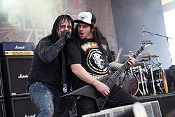 Channel Zero auf dem Rock Hard Festival 2015