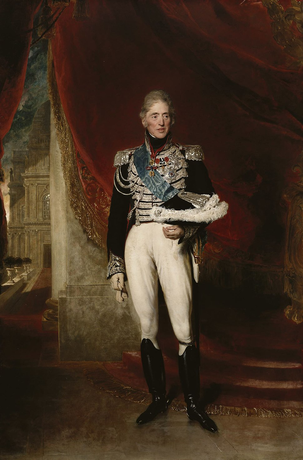 Charles X, King of France - Lawrence 1825