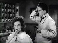 Charlie Chaplin and Paulette Goddard in The Great Dictator trailer 2.JPG