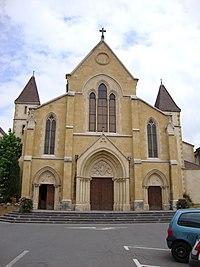 Charlieu (Loire, Fr) église paroissiale St.Philibert.JPG