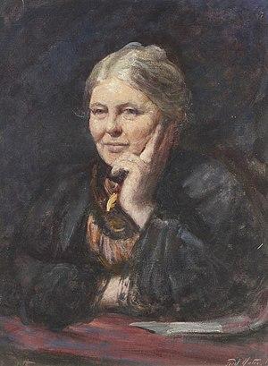 Armitt Library - Image: Charlotte Mason 1902 Frederic Yates