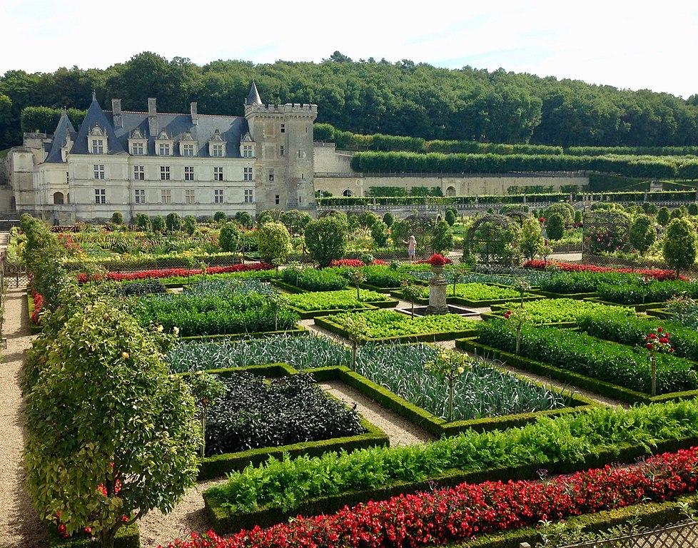 Château de Villandry gardens.