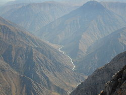Chatkal River (from Aukashka peak).JPG