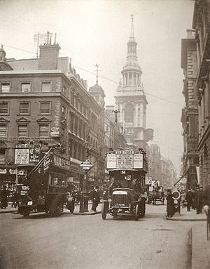 Cheapside - Image: Cheapside 1909