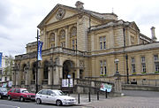 The Town Hall, erected in 1902 to commemorate the coronation of King Edward VII and Queen Alexandra