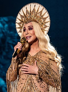 Cher American singer, actress and television personality