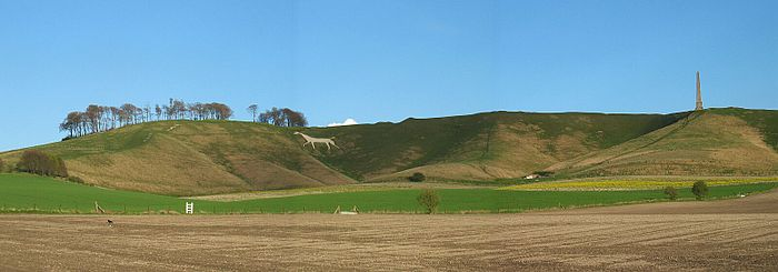 Cherhill White Horse and Landsdowne Monument