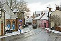Chesil Street after snow, Winchester - geograph.org.uk - 1145957.jpg