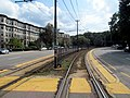 Chestnut Hill Avenue station facing outbound, August 2016.JPG