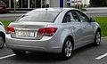 Chevrolet Cruze LT 1.8 – Heckansicht, 2. Juli 2011, Mettmann.jpg