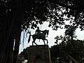 Chhatrapati Shivaji Maharaj statue at Gateway Mumbai DSCN4334 (1) 02.jpg