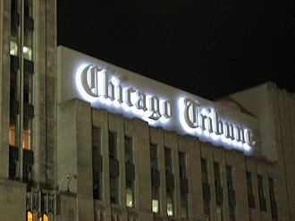 Chicago Tribune - Chicago Tribune building