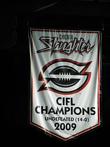 Chicago Slaughter 2009 Champs Banner.JPG