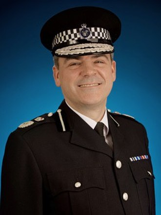 Dave Thompson (police officer) - Image: Chief Constable Dave Thompson