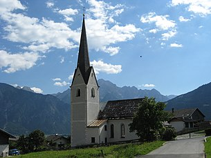 Nikolauskirche in Thurn