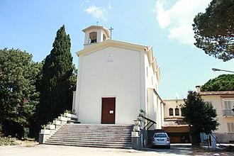 Pian d'Alma - The church of Madonna del Rosario