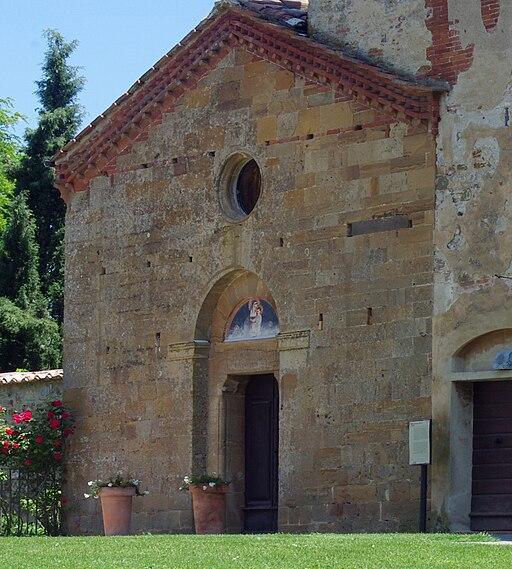 La chiesa di Santa Maria a Sicille, Trequanda