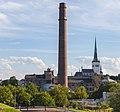 Chimenea de la central eléctrica de Tallin, Estonia, 2012-08-05, DD 02.JPG
