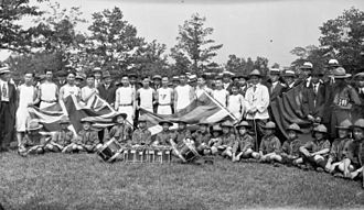 Chinese Canadians - Chinese Canadians in Toronto's High Park, 1919