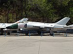 Chinese Air Force Fighter jet, Beijing Aviation Museum (26474317225).jpg