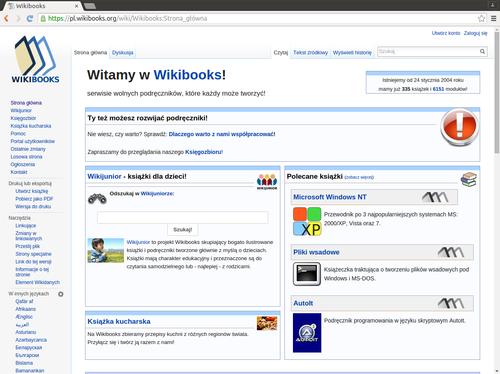 Ubuntu/Przeglądarka Google Chrome i Chromium - Wikibooks, biblioteka