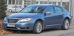 Chrysler 200 (JS) sedan IMG 3545.jpg