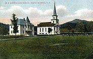 Church & Schoolhouse, Warren, NH