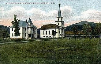 Warren, New Hampshire - Image: Church & Schoolhouse, Warren, NH