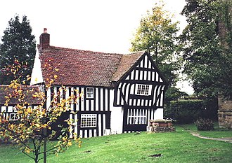 Listed buildings in Highley - Image: Church House, Highley