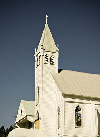 Roslyn, Washington - Immaculate Conception Church is featured in the 1979 film The Runner Stumbles, starring Dick Van Dyke and Kathleen Quinlan.