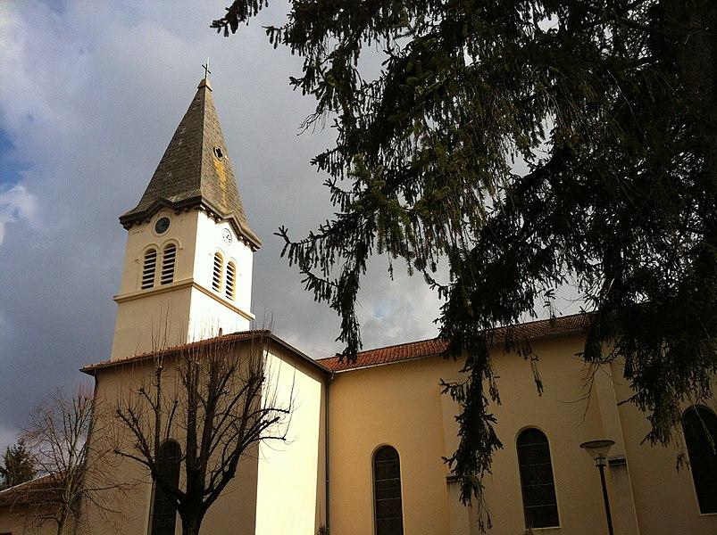 Church of Dagneux.