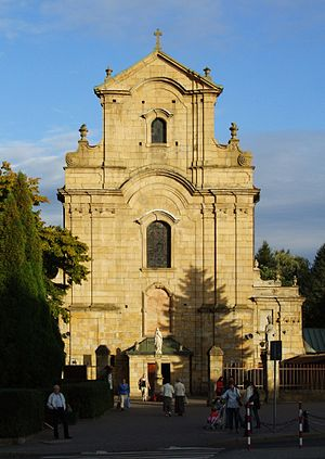 Church of the Capucine Friars in Krosno (by Pudelek).JPG