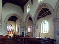 Church of the Holy Cross Great Ponton Lincolnshire England - nave from northwest.jpg