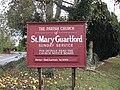 Church sign, Guarlford - geograph.org.uk - 1566716.jpg