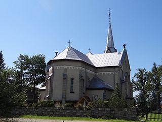 Chyżne Village in Lesser Poland Voivodeship, Poland
