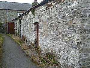 Cilgerran - Former dwelling (note blocked-up windows) built from local stone