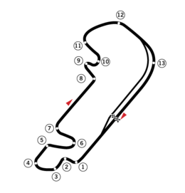 Formula One Grand Prix layout