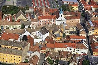 Pápa Town in Veszprém, Hungary