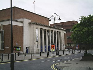 Wolverhampton Civic Hall - Image: Civic Hall geograph.org.uk 447452