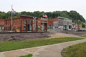 Clarksville, Missouri - Clarksville, Missouri in June 2018