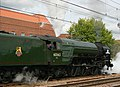 Class A1 Pacific 60163 'Tornado' prepares to leave Welwyn Garden City. - panoramio.jpg