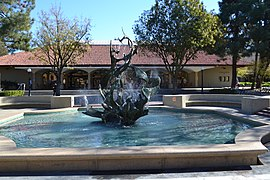 Claw Fountain at Stanford Univerisity