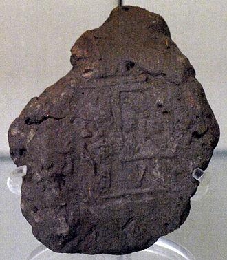 Anedjib - Seal impression of king Anedjib
